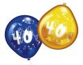 Luftballons mit Zahl 40 10 Stück