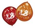 Luftballons mit Zahl 18 10 Stück