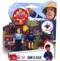 Feuerwehrmann Sam Figuren Sam und Ellie