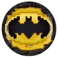 Partyteller Lego Batman 8 Stück 23 cm