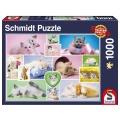 Puzzle Schmusekatzen 1000 Teile