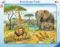Ravensburger Rahmen-Puzzle Afrikas Tierwelt 30 Teile
