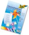 Folia Transparentpapier-Block A4 115g/m² farbig sortiert