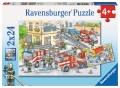 Ravensburger Puzzle Helden im Einsatz 2 x 24 Teile