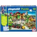 Puzzle Playmobil - Auf dem Bauernhof 60 Teile