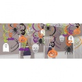 Halloween Deko-Spiralen 30 Stück
