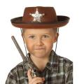 Kostüm-Zubehör Cowboyhut braun Kinder