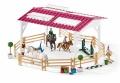 Schleich Reitschule mit Reiterinnen und Pferden 42389