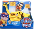 Paw Patrol Vehicle Fahrzeug Super Pup Rubble´s Crane