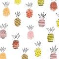 Servietten Ananas Mix koralle