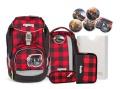 Ergobag Pack Schulranzen-Set BaggerfahrBär