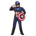 Kostüm Captain America Deluxe M 5-6 Jahre